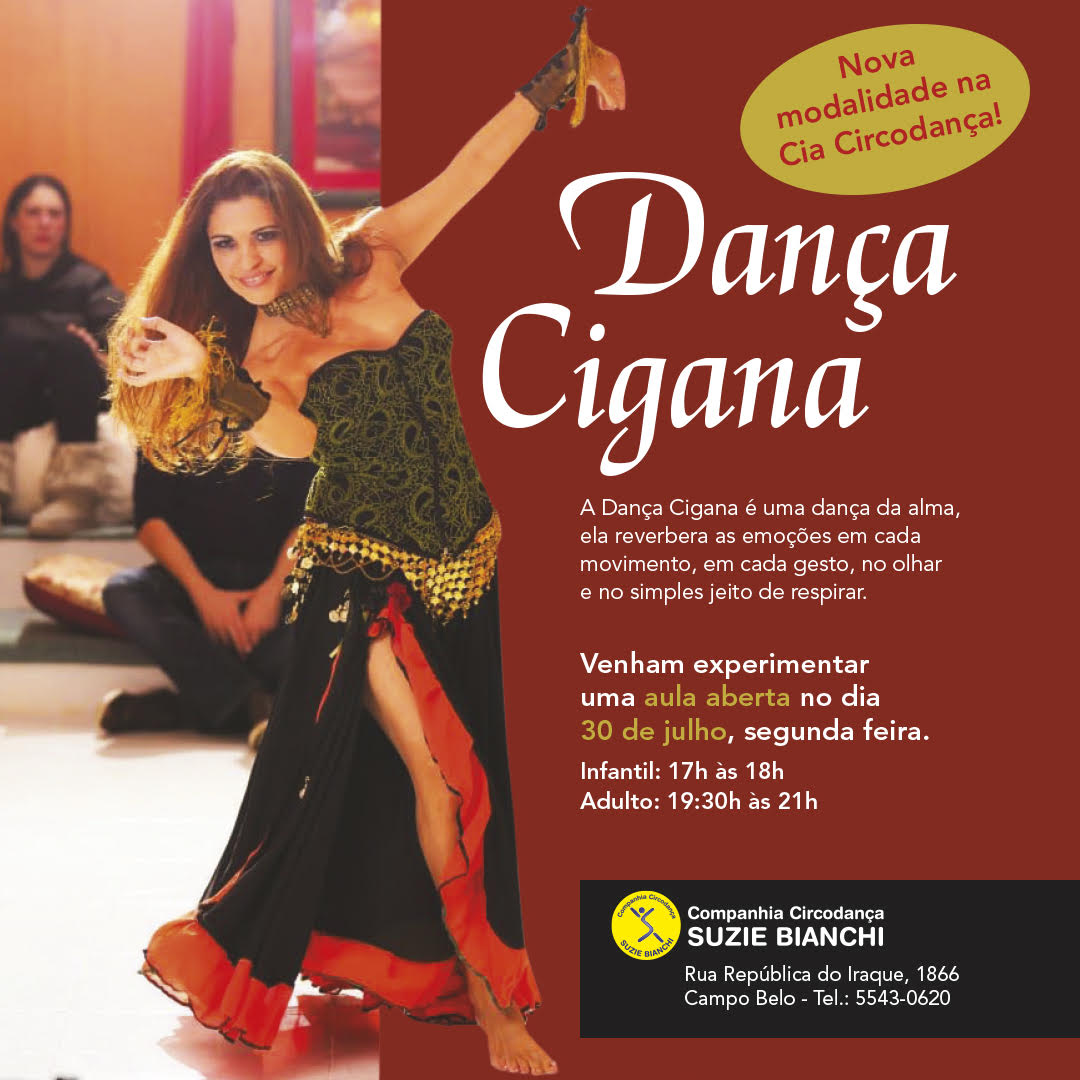 Flyer Danca Cigana